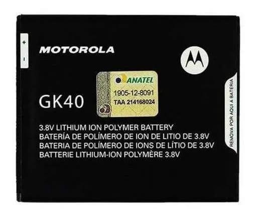 Bateria Motorola G4 Play GK40