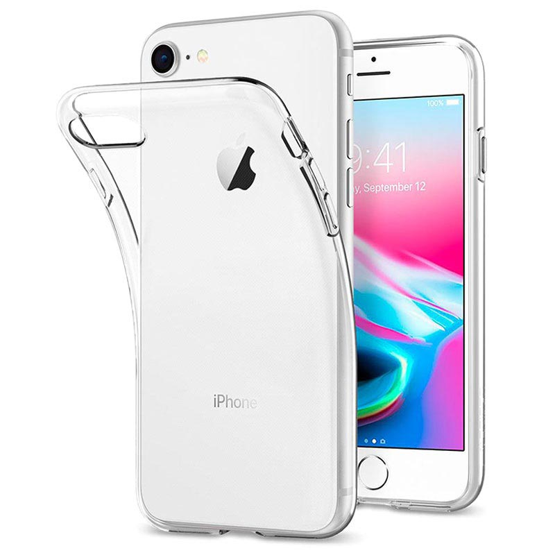 Capa Transparente Anti Shock para Iphone 8