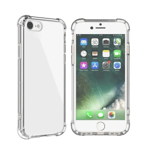 Capa Transparente Anti-shock Para iPhone SE (2020)