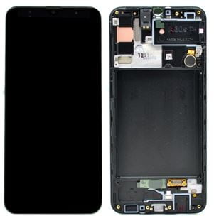 Display Samsung SM-A307F Galaxy A30s C/ Aro