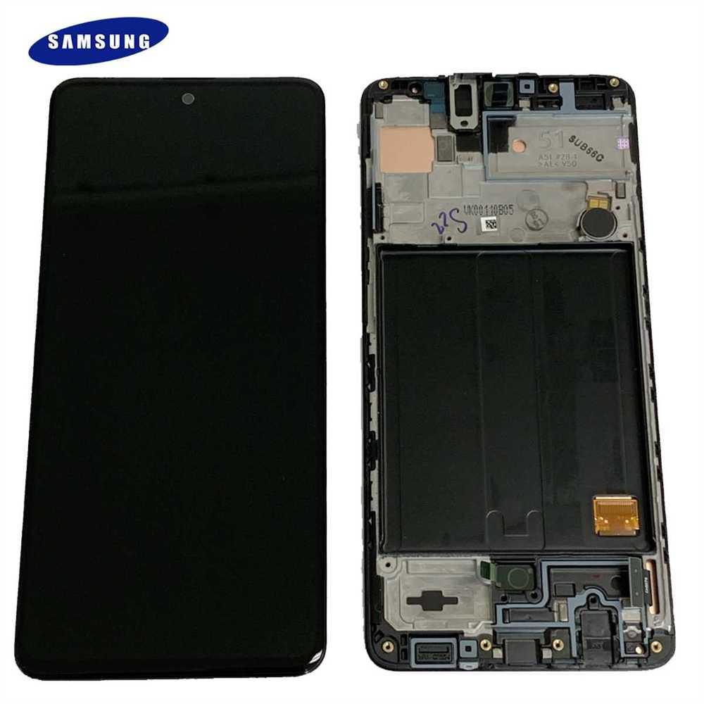 Displays  Samsung  LCSS915 Display Samsung SM-A515 Galaxy A51
