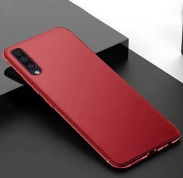 Capa Silicone Para Samsung A50 - Case Aveludada