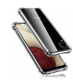 Capa Transparente Anti-shock Samsung Galaxy A12