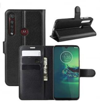 Capa Carteira  Antishock Porta Cartão P/ Motorola Moto G8 Plus