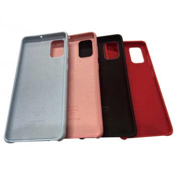 Capa Silicone Samsung A51 - Case Aveludada