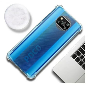 Capa Transparente  Anti Shock para Xiaomi Poco X3