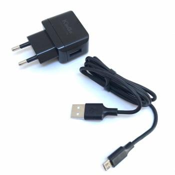 Carregador para Celular Micro USB KinGo