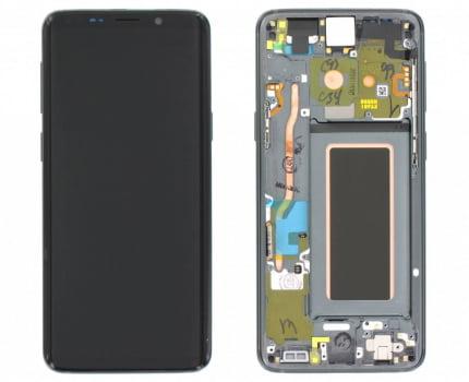 Display Samsung SM-G960 Galaxy S9 - Cinza original